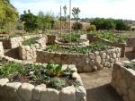 Santa Barbara Stone Rasied Veggie Beds